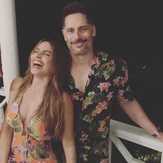 "Sofia Vergara on Instagram: ""Vacation mood😂❤️❤️🌴#SamsonSpecial"" Hot Couples, Celebrity Couples, Sam Son, Vacation Mood, Casual Dresses, Summer Dresses, Joe Manganiello, Sofia Vergara, Celebs"