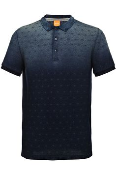 Cotton polo shirt with a graphic star print: 'Pachouly' Gents T Shirts, Polo Tee Shirts, Printed Polo Shirts, Camisa Polo, Polo Shirt Design, Casual Outfits, Men Casual, Golf Fashion, Nike Wear
