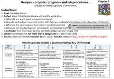 The John F. Kennedy School of Querétaro: BIO/DESIGN7-IB assessment