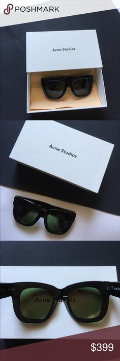 Acne studio sunglasses Authentic acne sunglasses with box and case! acne studio Accessories Sunglasses
