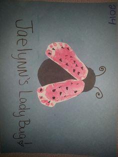 Footprint Turkey Mommy Baby Craft