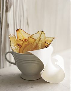 Pear Chips, Chris Court Photography