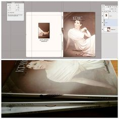 Book Design: Inspiration of the Day In Progress