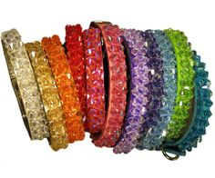 swarovski dog collars