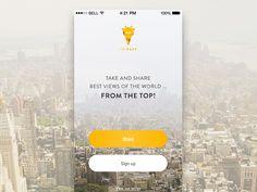 자연스럽게 스며드는 그라데이션 효과를 넣어 심플하면서두 간단한 앱
