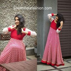 Stunning Floor Length Anarkali's by Anitha Reddy ~ Celebrity Sarees, Designer Sarees, Bridal Sarees, Latest Blouse Designs 2014