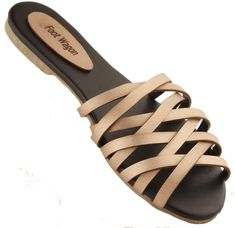 Foot Wagon Women's Flats | Ladies Sandal |Women Flats | Ladies Slippers |Girls Slippers | Beige |Flats_03: Buy Online at Low Prices in India - Amazon.in Ladies Slippers, Slippers For Girls, Womens Slippers, Beige Flats, Women's Flats, Cheap Sandals, Fashion Slippers, India, Amazon