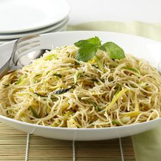 Summer Squash with Angel Hair - WomansDay.com