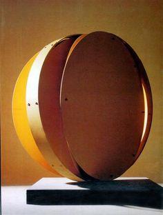 Luna - Edgar Negret Constructivism, Art Database, Modern Artists, Abstract Sculpture, American Artists, Art Decor, Mirror, Metal, Artwork