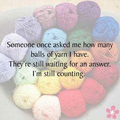 895 best crochet humor images on knitting Knitting Quotes, Knitting Humor, Crochet Humor, Loom Knitting, Knitting Patterns, Funny Crochet, Crochet Patterns, Easy Yarn Crafts, Yarn Stash