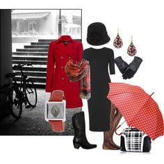 """""""Rainy day classic chic"""" by maria-kuroshchepova on Polyvore"""
