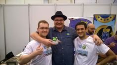 Amazing meeting in #essen2015 with The Dice Tower! Tom Vasel will review our game! #happy :D  https://www.kickstarter.com/projects/rombogames/publish-or-perish-0/posts/1378927?utm_content=buffer1ffec&utm_medium=social&utm_source=pinterest.com&utm_campaign=buffer