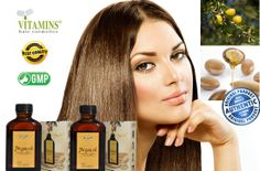 Vitamins High Quality Natural Moroccan Argan Oil for Hair Treatment with Pump, Pack of 2 Kit Deal (2 * 3.4 Oz / 2 * 100 ml), Premium Luxury Argan Gold Series, Cold Pressed Argan Oil, Sulfate Free, Salts Free, Alcohol Free - The Ultimate Moroccan Leave-in Treatment to Effectively Protect, Nourish and Preserve Your Radiant Look; The Ideal Valentine's Day Gift Set in 2 Decorated Boxes