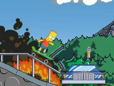 Bart Boarding Toongames.com - https://freegame.site/bart-boarding-toongames-com.html
