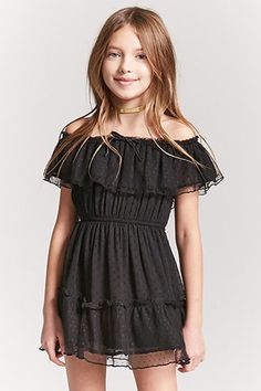 Forever 21 is the authority on fashion & the go-to retailer for the latest trends, styles & the hottest deals. Girls Summer Outfits, Little Girl Outfits, Cute Girl Outfits, Little Girl Fashion, Preteen Girls Fashion, Girls Fashion Clothes, Fashion Outfits, Little Girl Models, Cute Girl Dresses