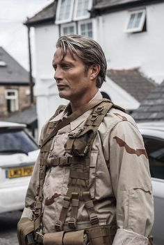 Mads Mikkelsen | Death Stranding | the 3D mapping in London, UK behind the scenes