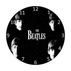 Relogio Feito Em Disco De Vinil The Beatles Tenho Outros ❤ liked on Polyvore