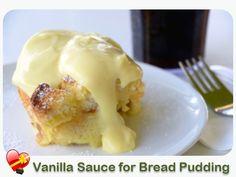 Vanilla Sauce for Bread Pudding - ILoveHawaiianFoodRecipes