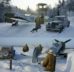 AMAZING MESSERSCHMITT BF-109 DIORAMA                                                                                                                                                                                 More