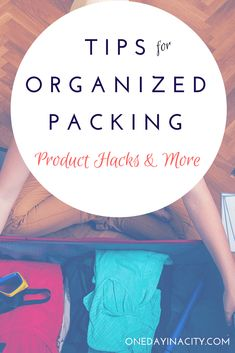 Suitcase Packing Tips: Keep your travels streamlined and hassle-free right down to your suitcase with these tips for keeping your suitcase organized, including products, packing order, tips for parents, and other travel packing hacks.