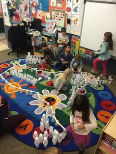 Fantastic STEM activity for Preschool, PreK, Kindergarten and early elementary. Cups and Sticks...all you need are jumbo craft sticks and plastic or paper cups.