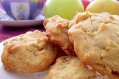 Chewy Apple Chamomile Cookies