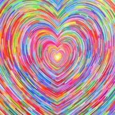 Rainbow Heart by jenniferET