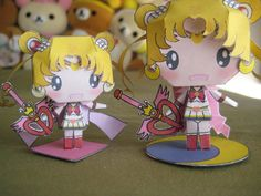Sailor Moon paper craft. :D