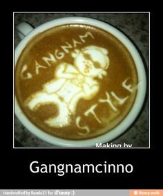 If a barista ever did this to my latte, I would leave them all the cash in my wallet. Coffee Cup Art, Coffee Box, I Drink Coffee, Coffee Break, Coffee Store, Gevalia Coffee, Oppa Gangnam Style, Coffee Tasting, Latte Art