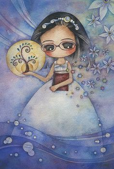 rebecca Juri Ueda. acuarela, watercolor