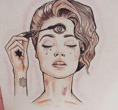 third eye chakra tattoo - Google Search