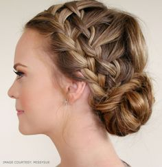 9 Gorgeous Waterfall Braid Updo Hairstyle You Can Make By Yourself  #braidedhairstyles