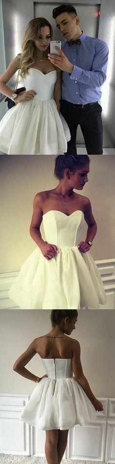 homecoming dresses,short homecoming dresses,cheap homecoming dresses,white hoemcoming dresses,sweetheart homecoming dresses,