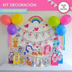 Ponys: decoración de fiesta - Todo Bonito