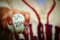 Baseball senior pictures