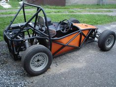 Lo-cost 101 (how do I make a cool Caterham replica?)-Page Grassroots Motorsports forum: Grassroots Motorsports Kart Cross, Go Kart Frame, Homemade Go Kart, Go Kart Buggy, Diy Go Kart, Tube Chassis, Drift Trike, Go Car, Beach Buggy