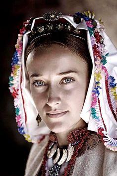 Bosnian traditional folk ritual clothing