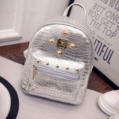 $4.67 (Buy here: https://alitems.com/g/1e8d114494ebda23ff8b16525dc3e8/?i=5&ulp=https%3A%2F%2Fwww.aliexpress.com%2Fitem%2F2016-new-college-wind-schoolbag-washed-leather-backpack-Women-Gold-Velvet-Small-Rucksack-Backpack-School-Book%2F32717492200.html ) 2016 new college wind schoolbag washed leather backpack Women Gold Velvet Small Rucksack Backpack School Book Shoulder  Bag for just $4.67