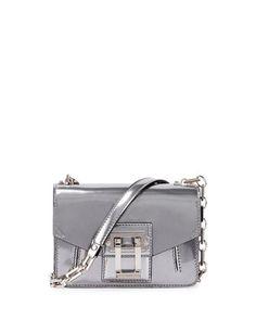 Crossbody Bag Silver by Proenza Schouler at Bergdorf Goodman.