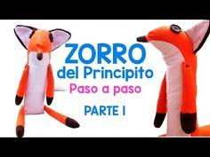 ZORRO EL PRINCIPITO PELUCHE -MOLDES GRATIS-PARTE 1-Le Petit Prince ✨☄️ - YouTube