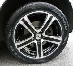 ZCW ZM5 on Black_T5_2 #cars #alloy #wheels #rims #tires #tyres http://www.turrifftyres.co.uk/alloywheels
