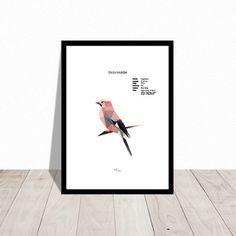 DANISH . Wall decoration . Low poly art bird . Jay by handywomenDK on Etsy https://www.etsy.com/listing/499238353/danish-wall-decoration-low-poly-art-bird