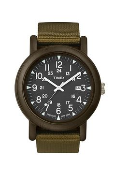 """The Timex 'Camper.' For when you want to look like you were in """"the war,"""" that war being sometime prior to 1970."""