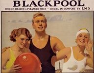 Blackpool, Lancashire poster