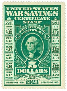 Shows the cost of the stamp depending on when it was purchased as well as the date it would be payable.