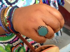 adorable indian turquoise ring