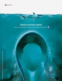 who's eating who?