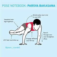 Learn to defy gravity with this step-by-step tutorial to Parsva Bakasana -- includes what to do if you're not able to do the pose yet!