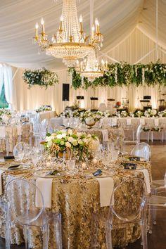 Small Elegant Wedding Set Up Bride Ceremony