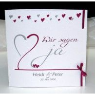 Hochzeitseinladung Mal Anders   Personalisierte Einladungsbox Mit Einer  Passenden Schriftrolle.